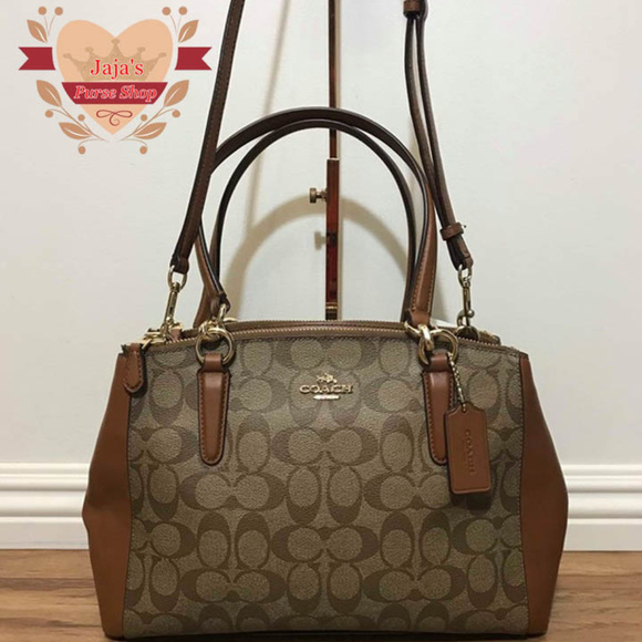 Coach bags nwot signature coated canvas purse poshmark jpeg 580x580  Authentic nwot coach signature carryall wallet d23aae0208